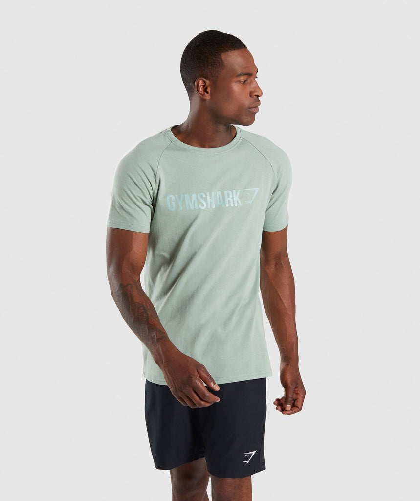 Gymshark Apollo T-Shirt - Pale Green 1