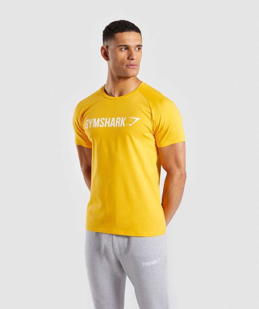 Gymshark Apollo T-Shirt - Yellow 1