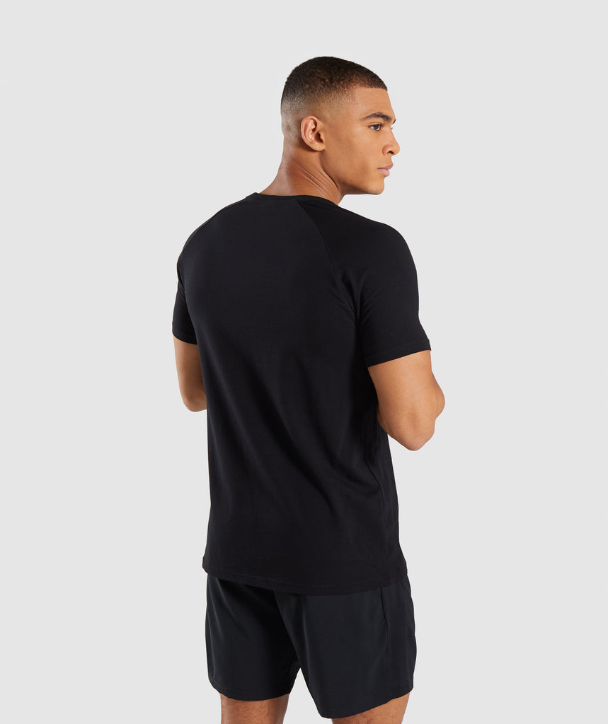 Gymshark Apollo T-Shirt - Black 2