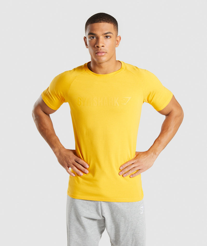 Gymshark Apollo T-Shirt - Citrus Yellow 1