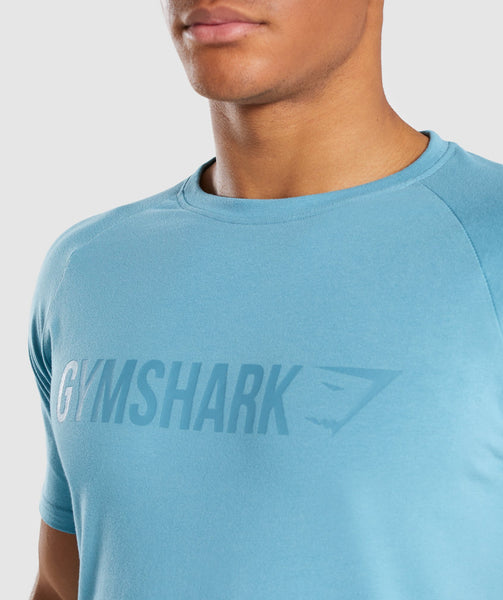 Gymshark Apollo T-Shirt - Dusky Teal 4