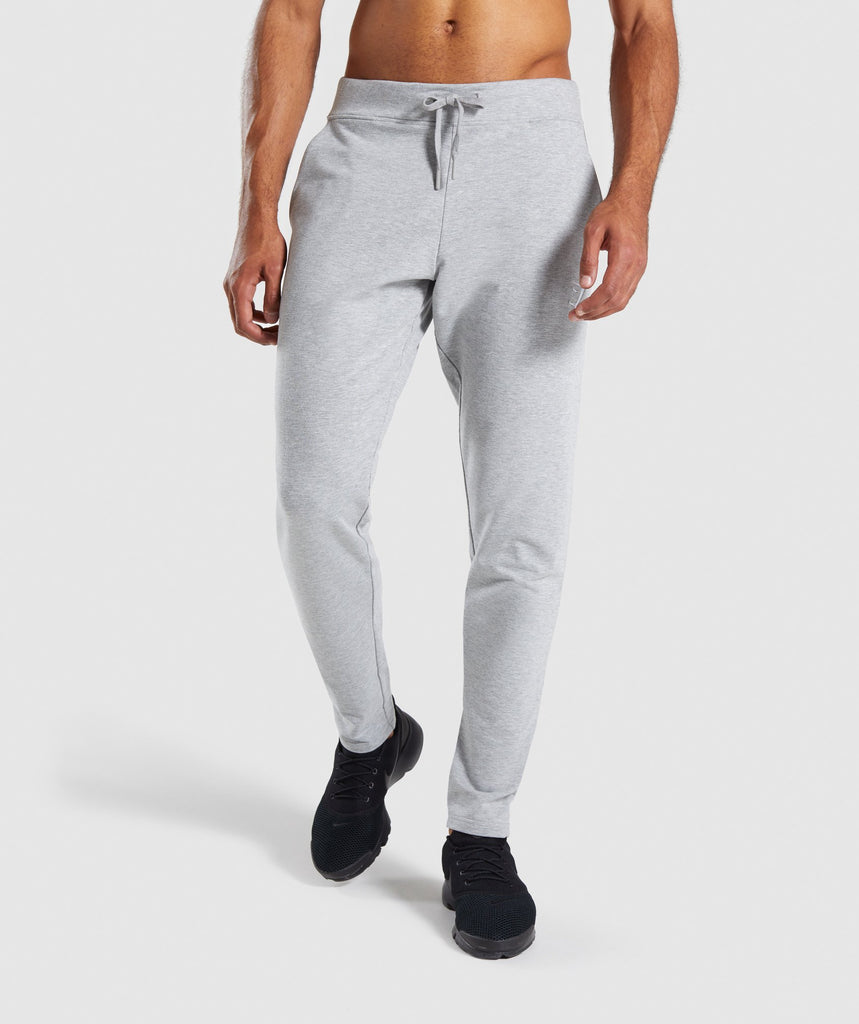 Gymshark Ark Bottoms - Light Grey Marl 1
