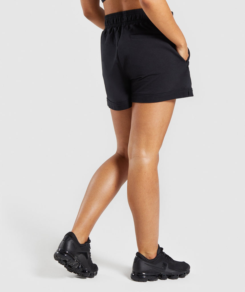 Gymshark Ark High Waisted Shorts - Black 2