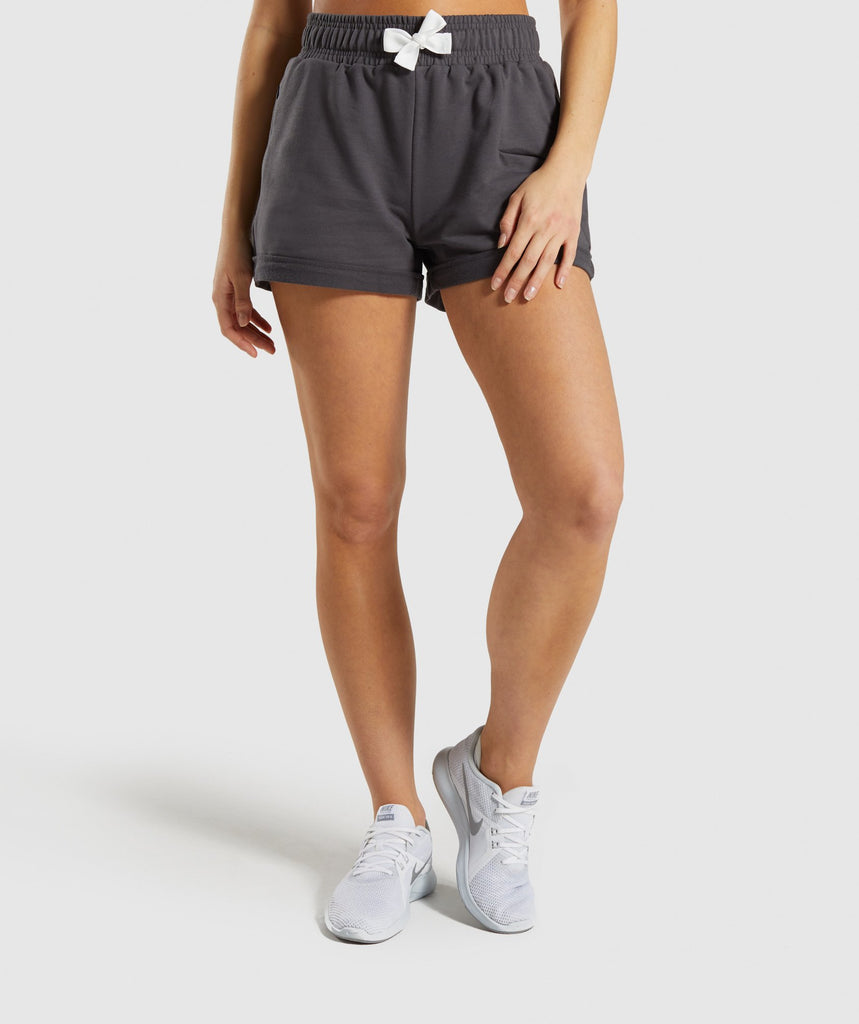 Gymshark Ark High Waisted Shorts - Grey 1