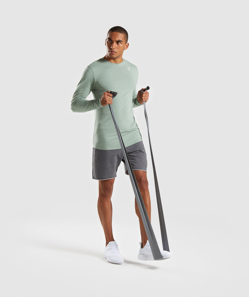 Gymshark Ark Long Sleeve T-Shirt - Pale Green 5