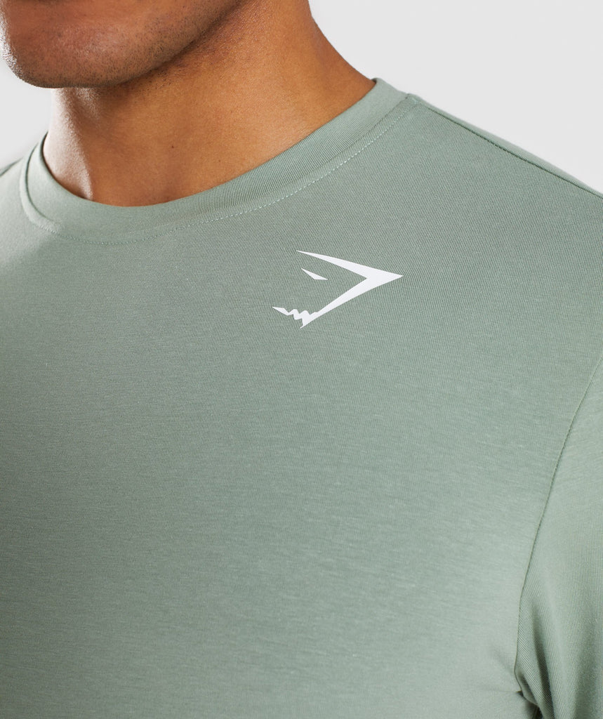 Gymshark Ark Long Sleeve T-Shirt - Pale Green 6