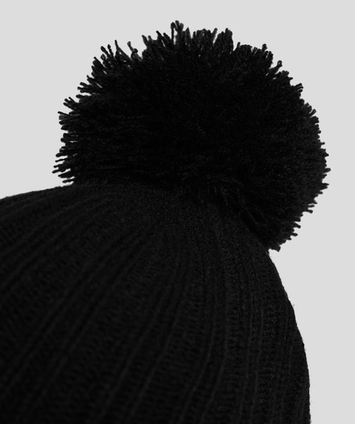 Gymshark Bobble Hat - Black 3