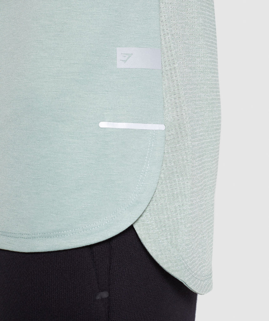 Gymshark Breathe T-Shirt - Pale Green 6