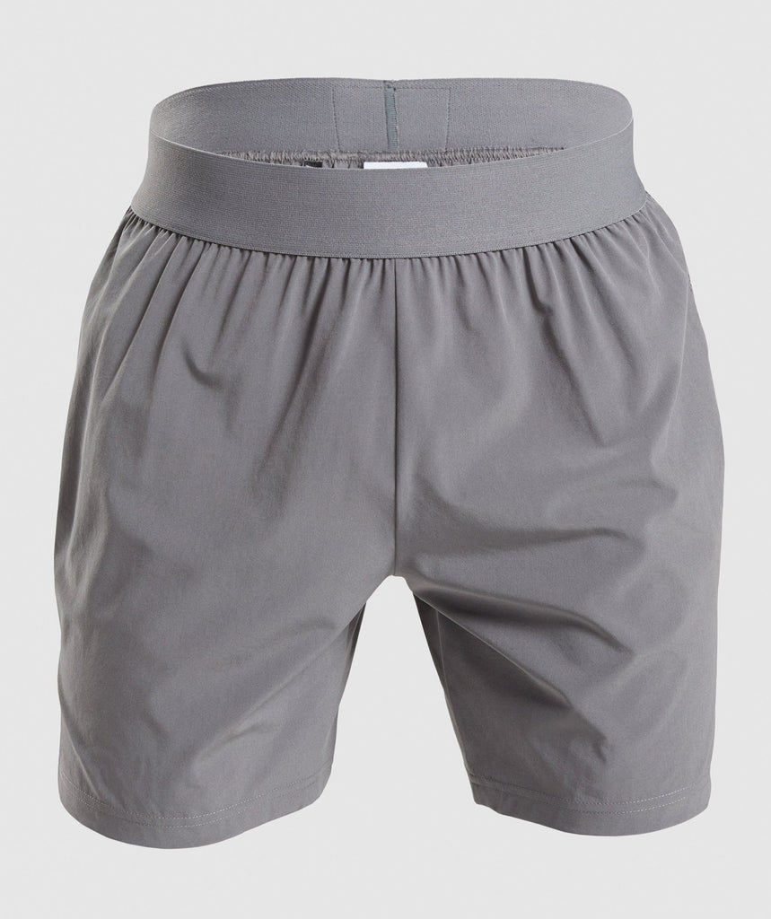 "Gymshark Combat 7"" Shorts - Smokey Grey 1"