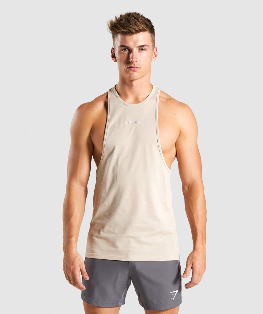 Gymshark Compound Stringer- Sand 1