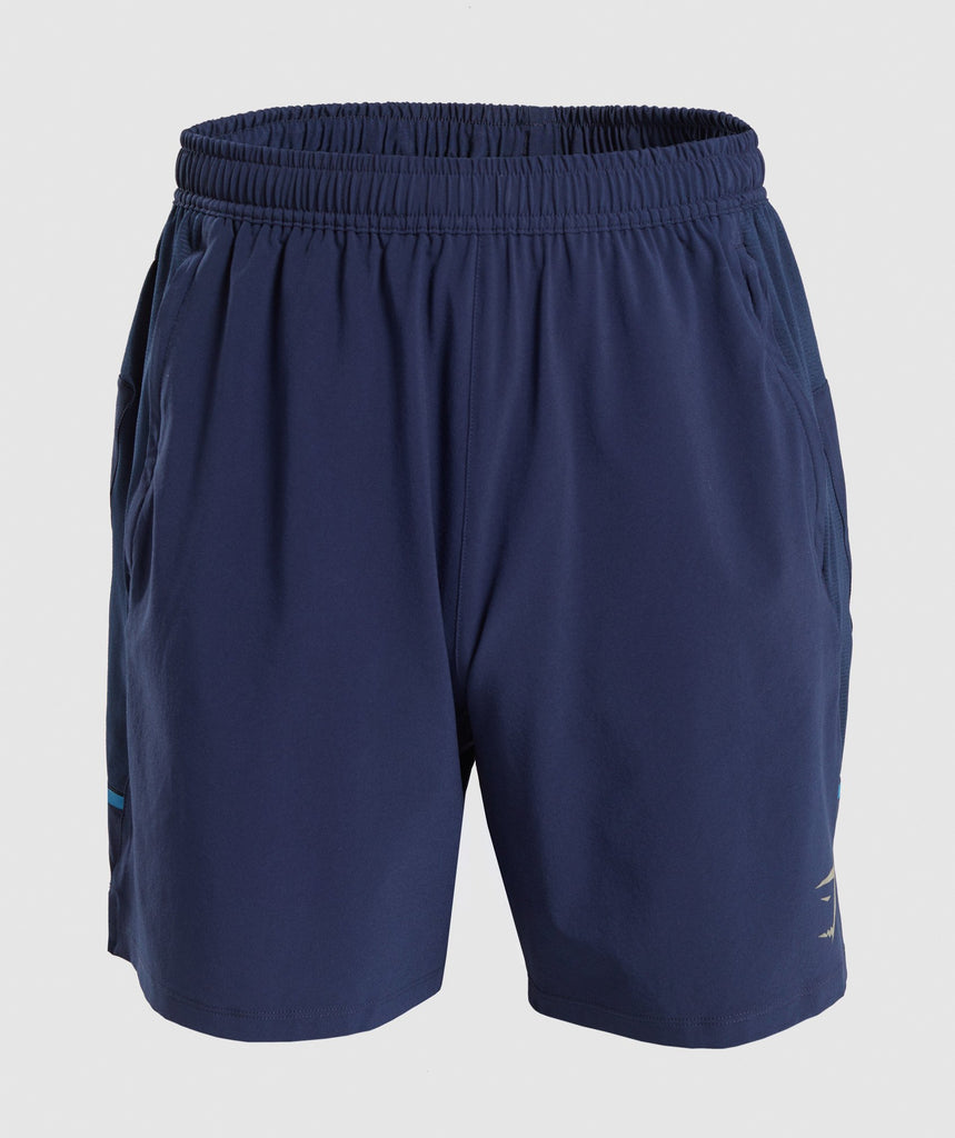 Gymshark Contemporary Shorts - Dark Blue 1