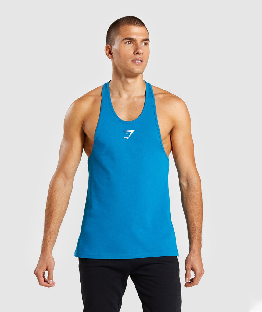Gymshark Critical Stringer - Light Blue 1