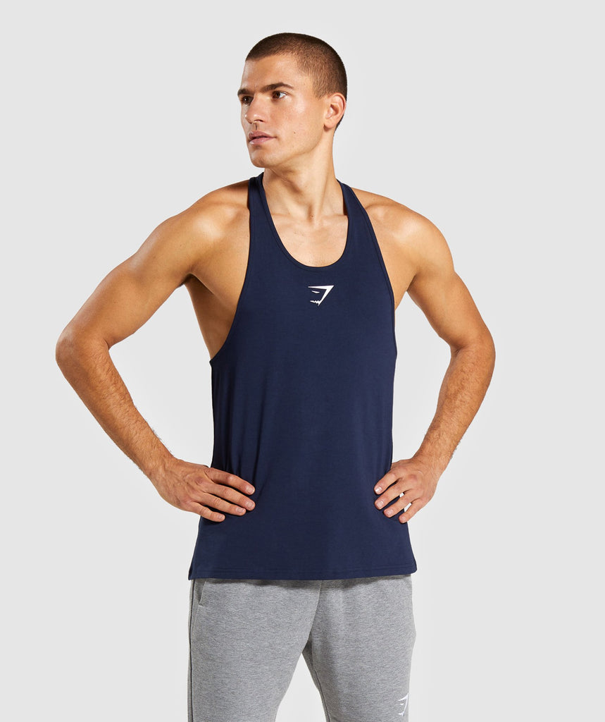 Gymshark Critical Stringer - Dark Blue 1