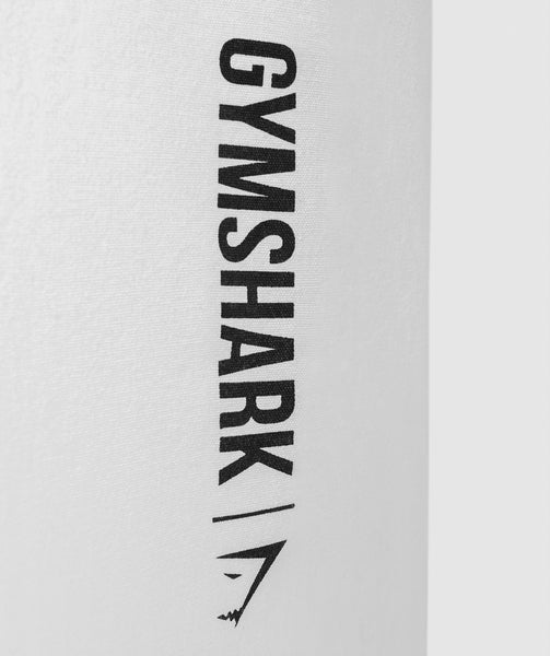 Gymshark Canvas Shopper Bag - White 3