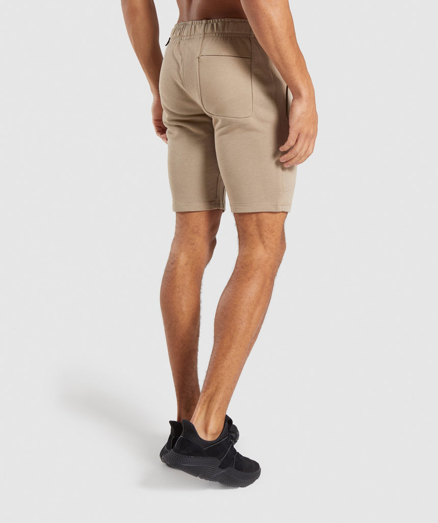 Gymshark Carbon Shorts - Driftwood Brown 2