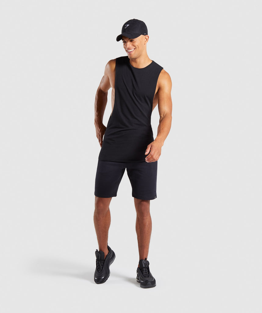 Gymshark Carbon Shorts - Black 6