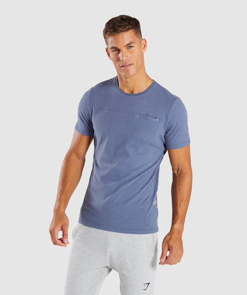 Gymshark City T-Shirt - Aegean Blue 4