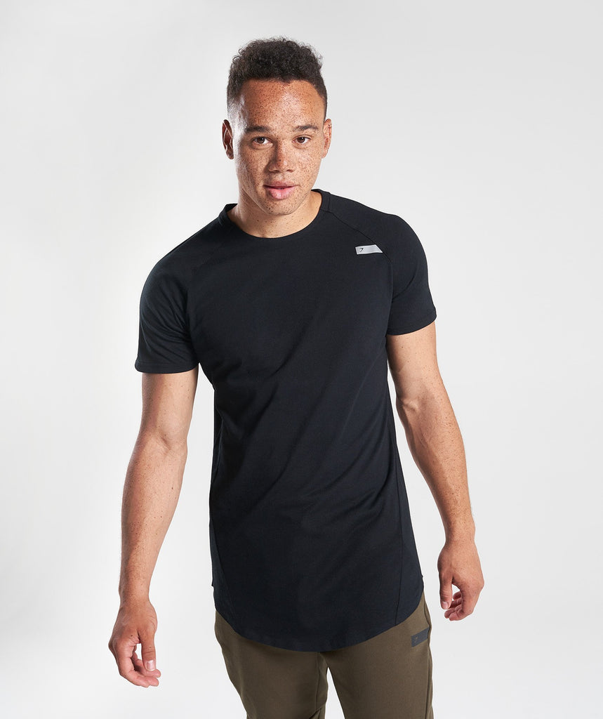 Gymshark Construction T-Shirt - Black 1