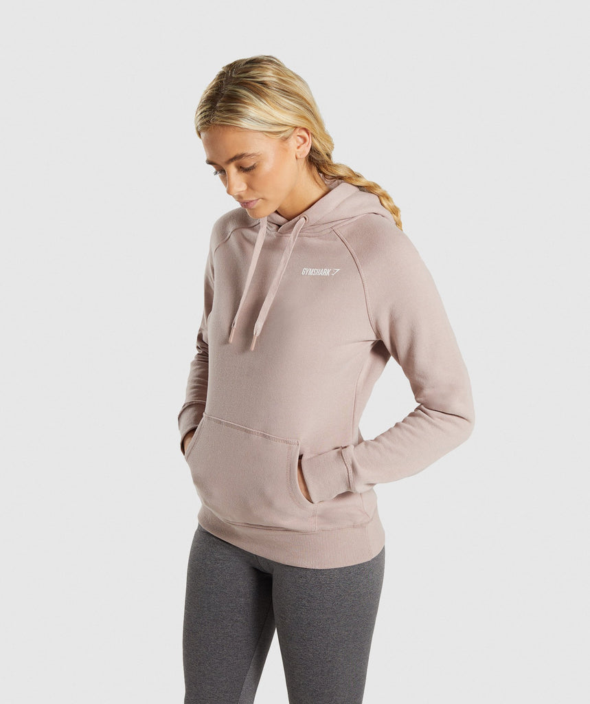 Gymshark Crest Hoodie - Taupe 1