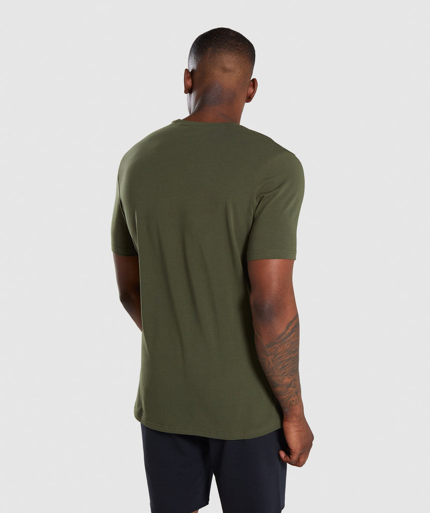 Gymshark Critical T-Shirt - Green 2