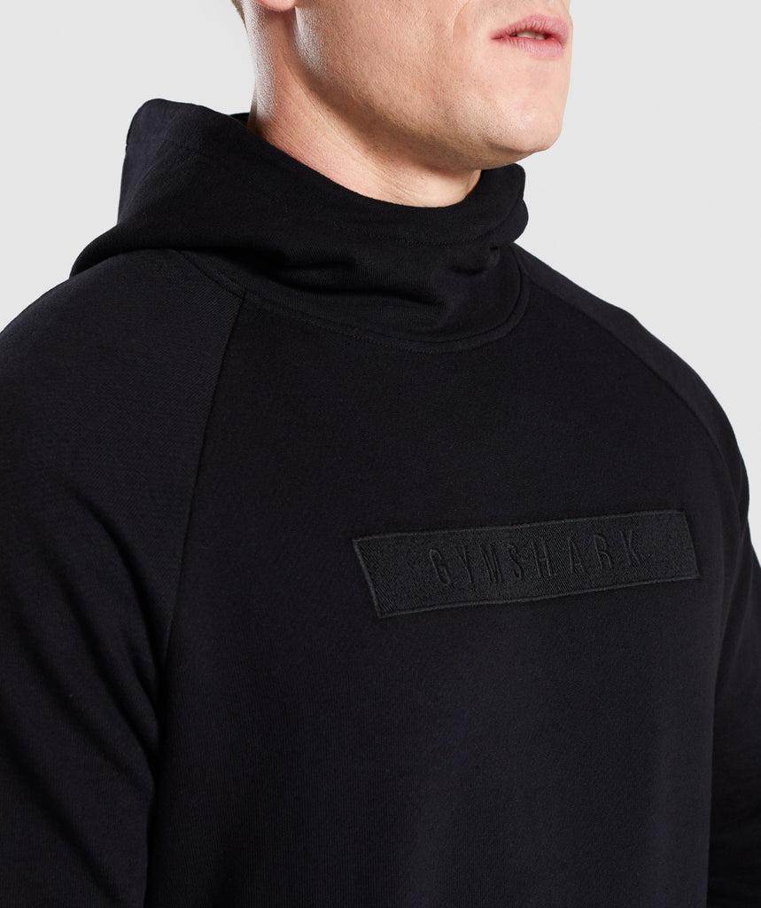 Gymshark Crucial Pullover - Black 5