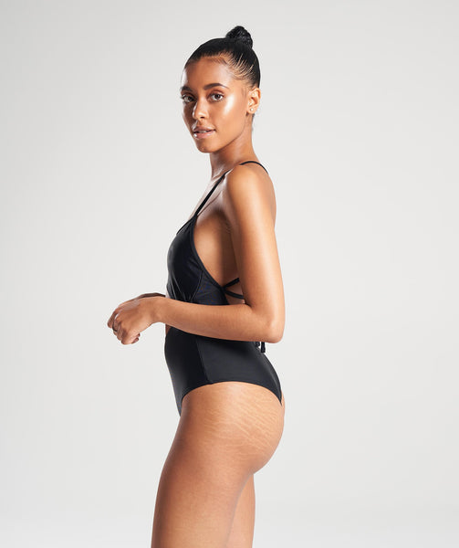 Gymshark Cut Out Swimsuit - Black 4