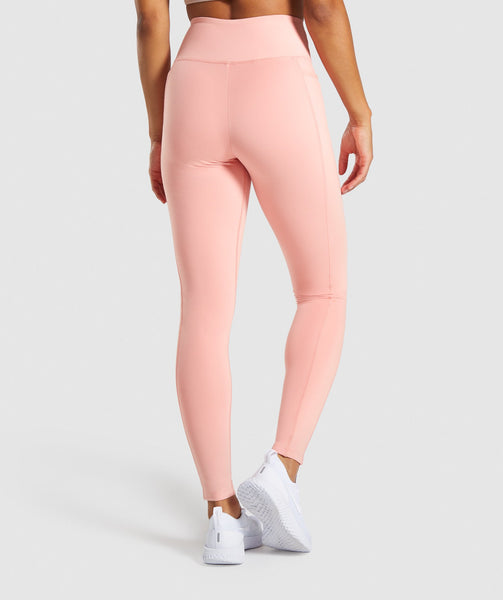 Gymshark Dreamy Leggings 2.0 - Peach 1