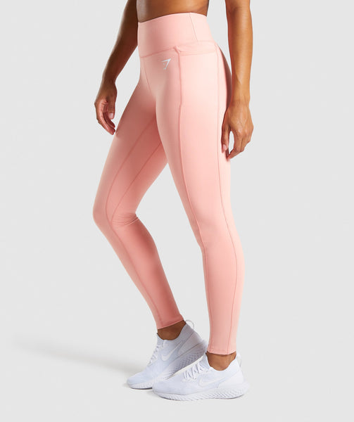 Gymshark Dreamy Leggings 2.0 - Peach 2