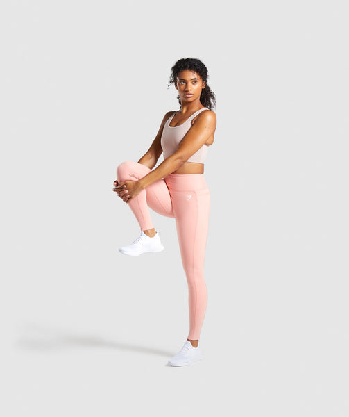 Gymshark Dreamy Leggings 2.0 - Peach 3