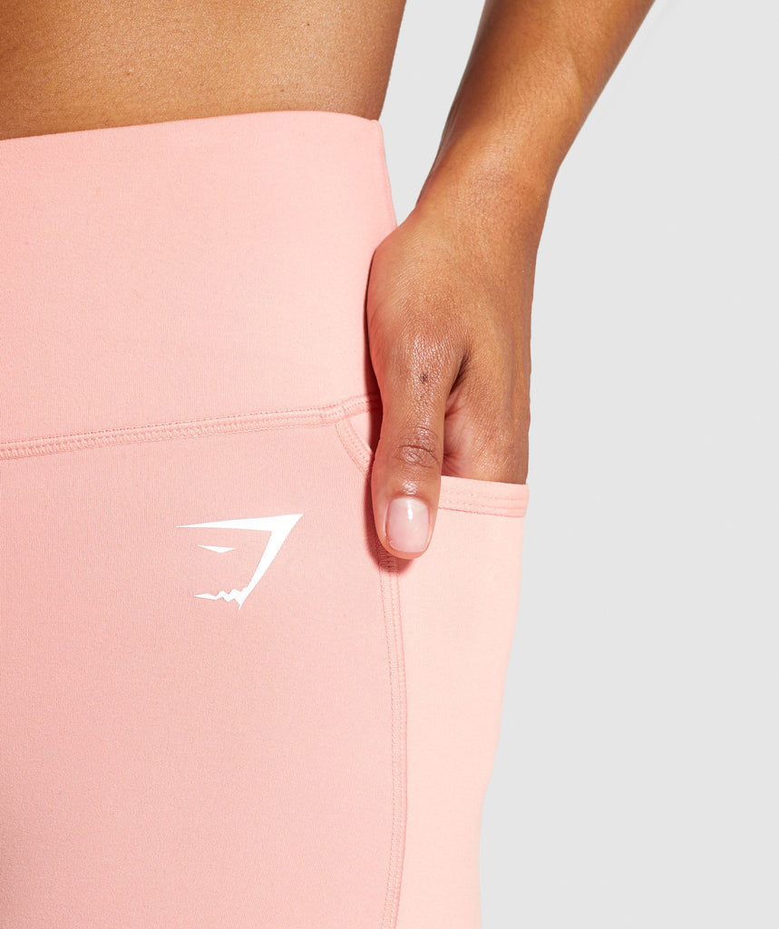 Gymshark Dreamy Leggings 2.0 - Peach 5