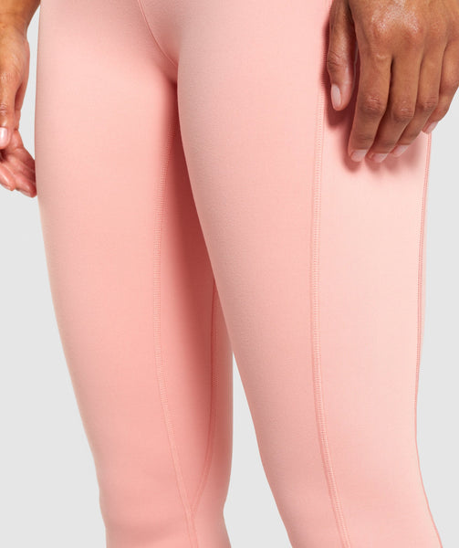 Gymshark Dreamy Leggings 2.0 - Peach 4