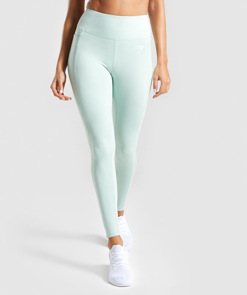 Gymshark Dreamy Leggings 2.0 - Light Green 1