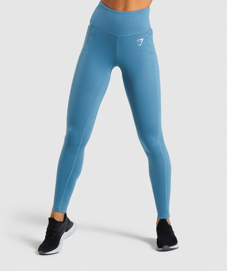 Gymshark Dreamy Leggings - Teal 1