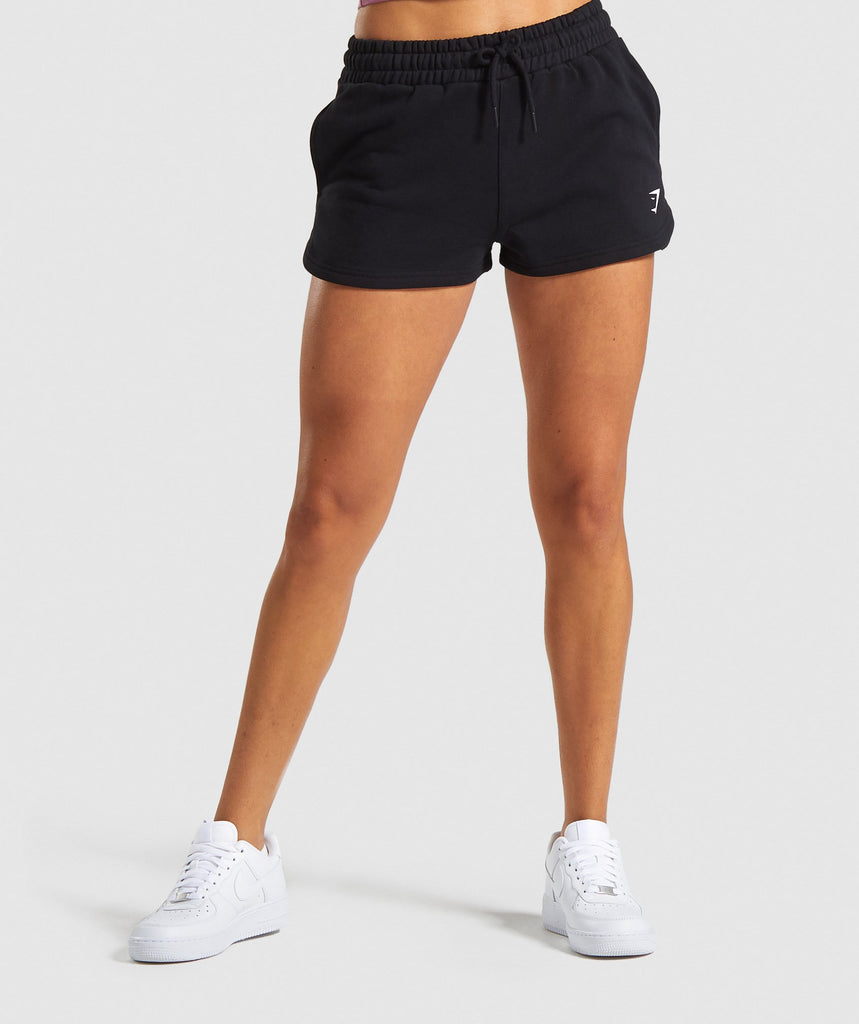 Gymshark Ease Shorts - Black 1