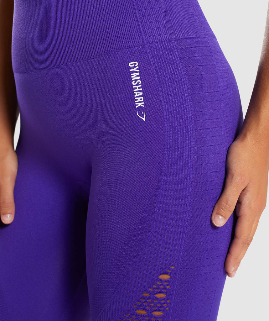 Gymshark Energy+ Seamless Leggings - Indigo 5