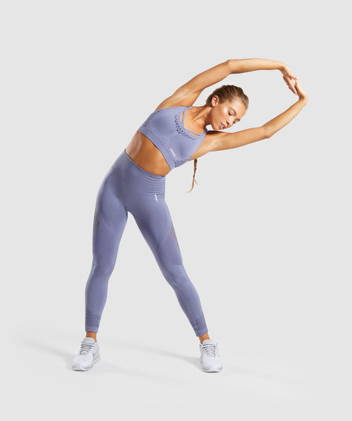 Gymshark Energy+ Seamless Leggings - Steel Blue 3