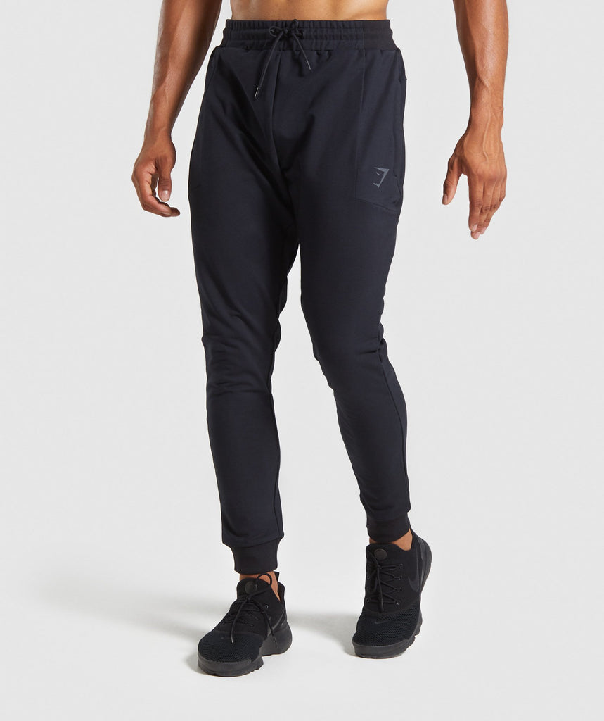 Gymshark Force Joggers - Black 1
