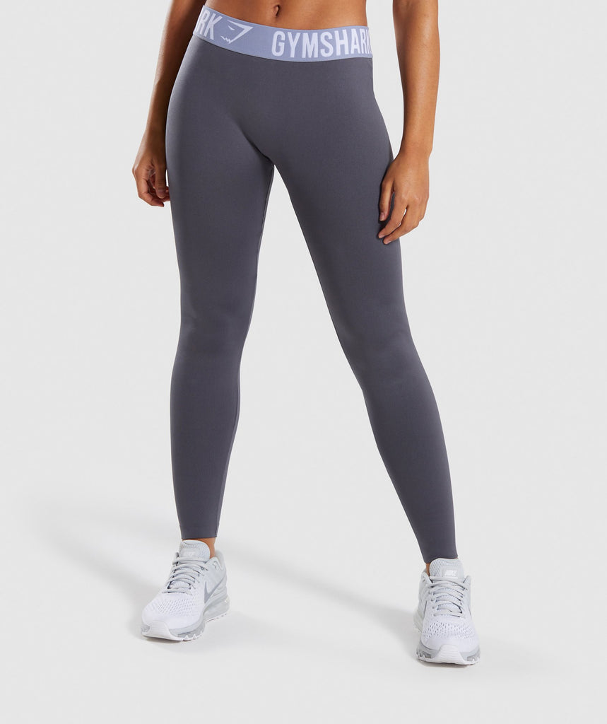 Gymshark Fit Leggings - Grey 1