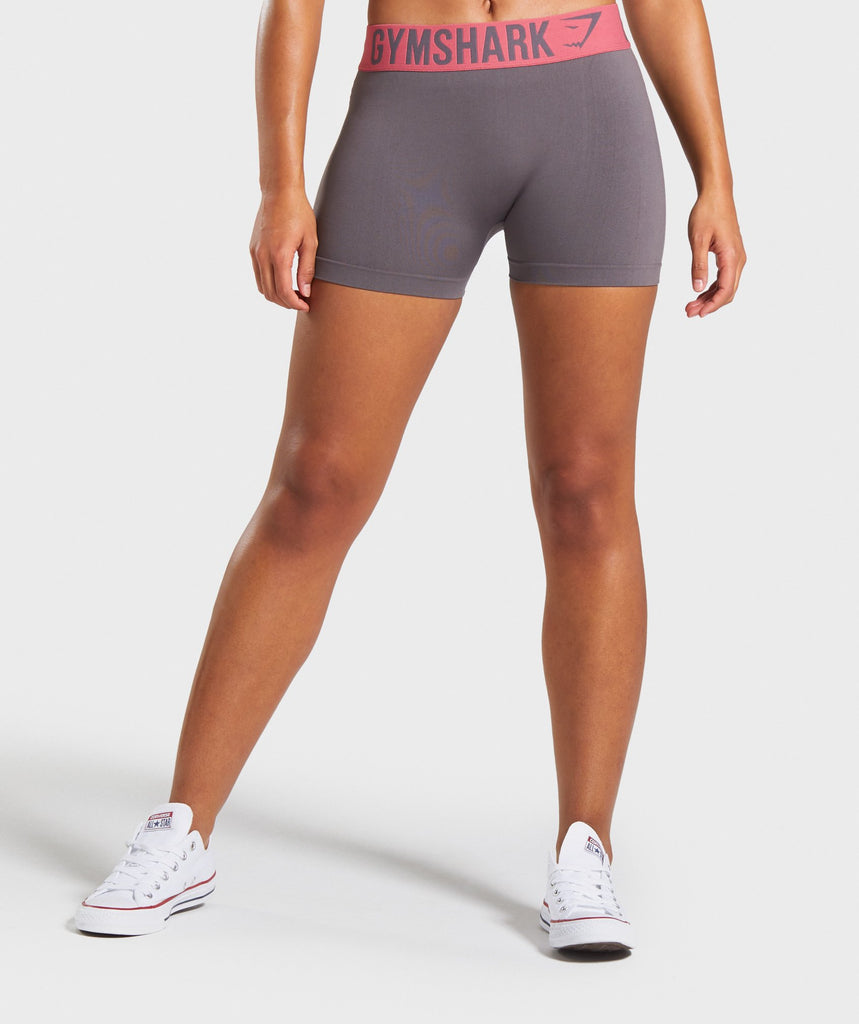 Gymshark Fit Shorts - Slate Lavender/Rose 1