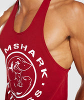 Gymshark Legacy Stringer - Full Red 11