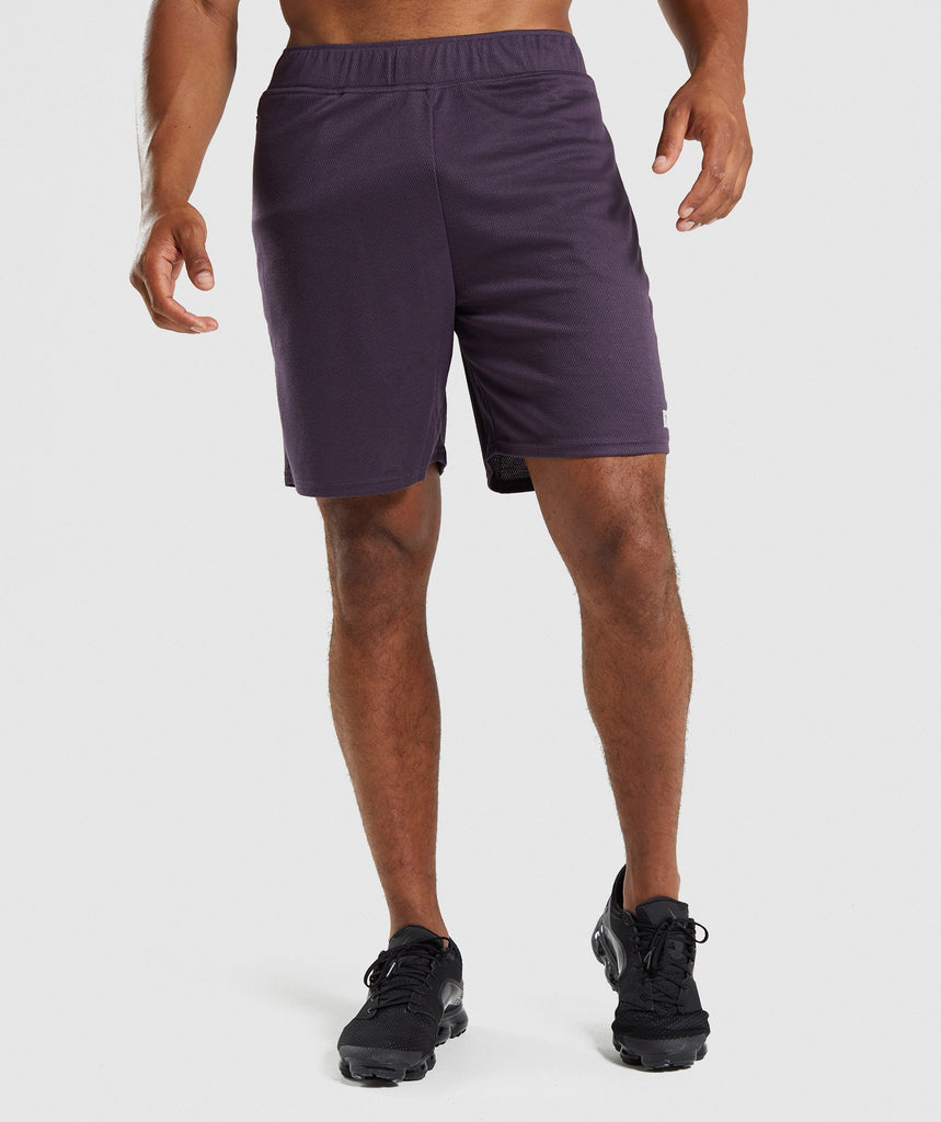 Gymshark Free Flow Shorts - Nightshade Purple 1