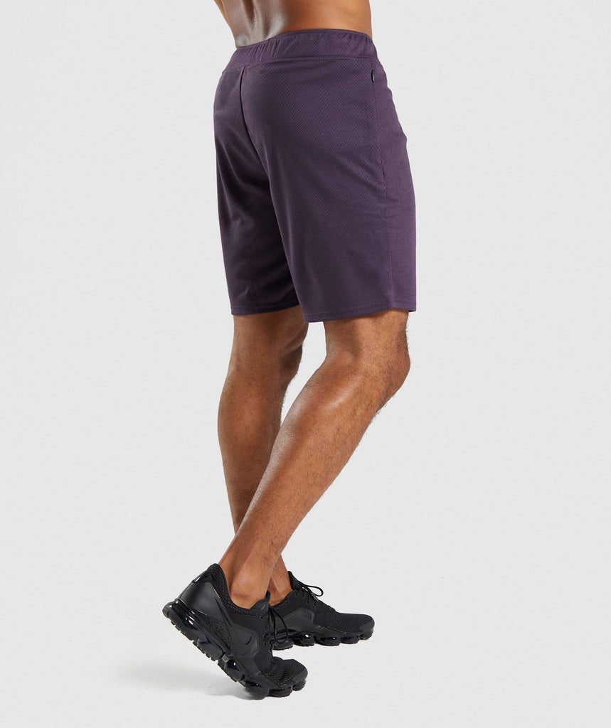 Gymshark Free Flow Shorts - Nightshade Purple 2
