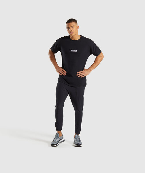 Gymshark Fresh T-Shirt - Black 3