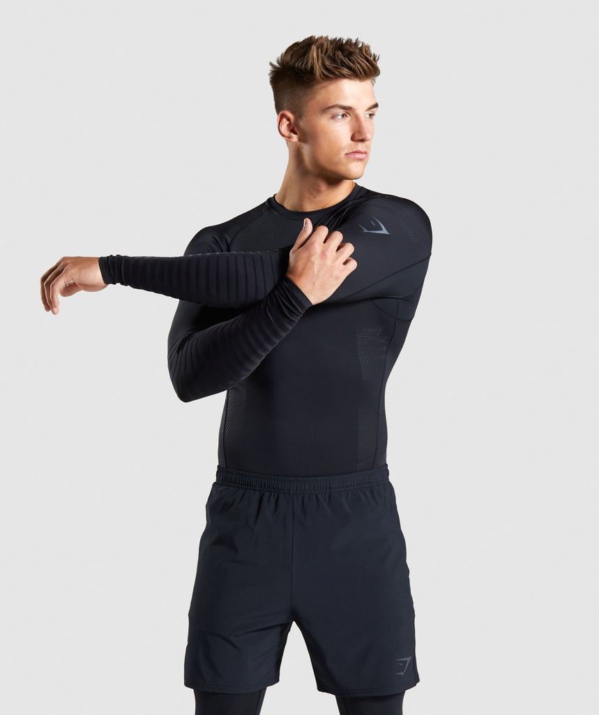 Gymshark Technical Baselayer Long Sleeve T-shirt - Black 1