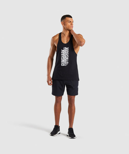 Gymshark Ascend Stringer - Black 3