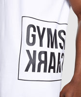 Gymshark Mirror T-Shirt - White 11