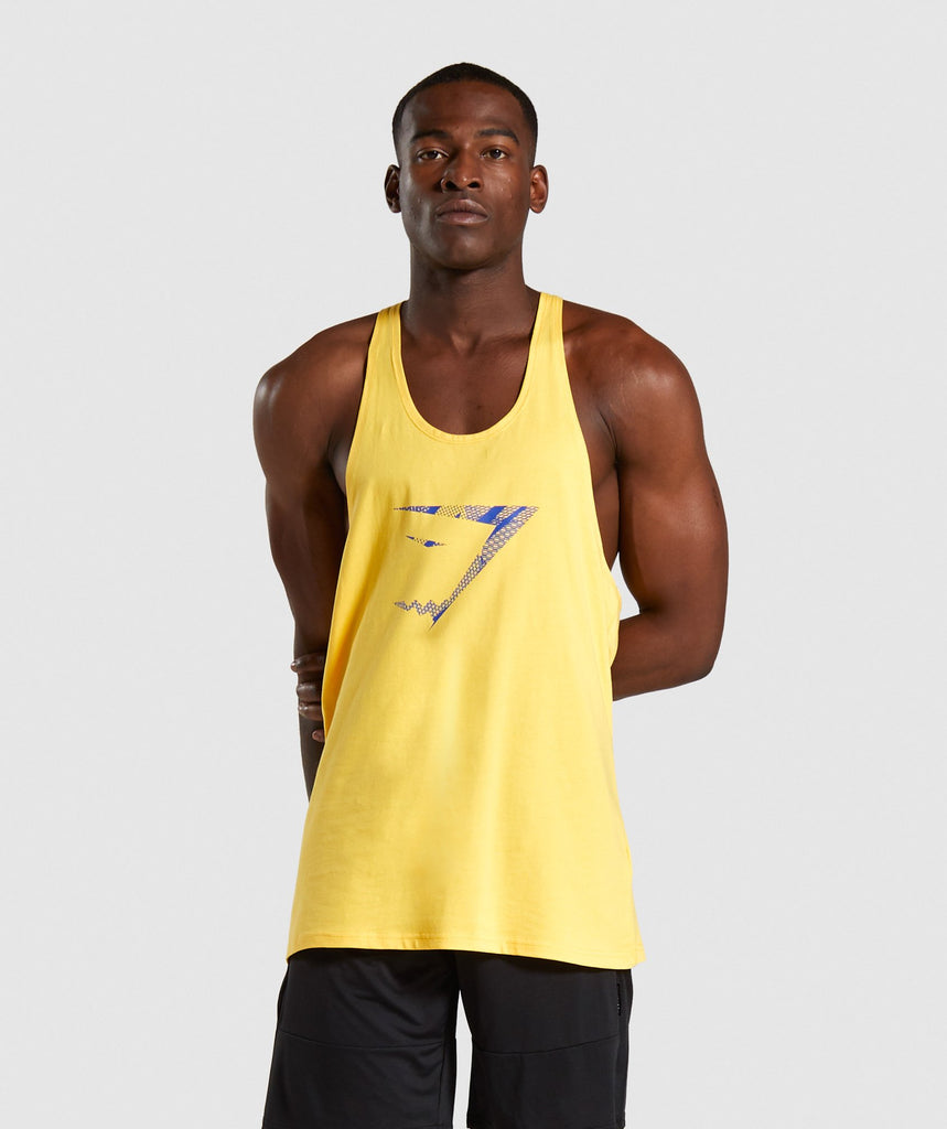 Gymshark Infill Stringer - Yellow 1