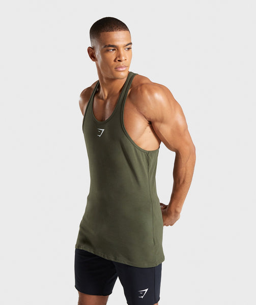 Gymshark Ion Stringer - Woodland Green 4