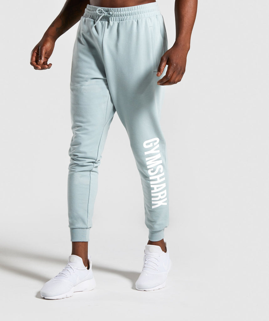 Gymshark Maximize Joggers - Light Blue 1