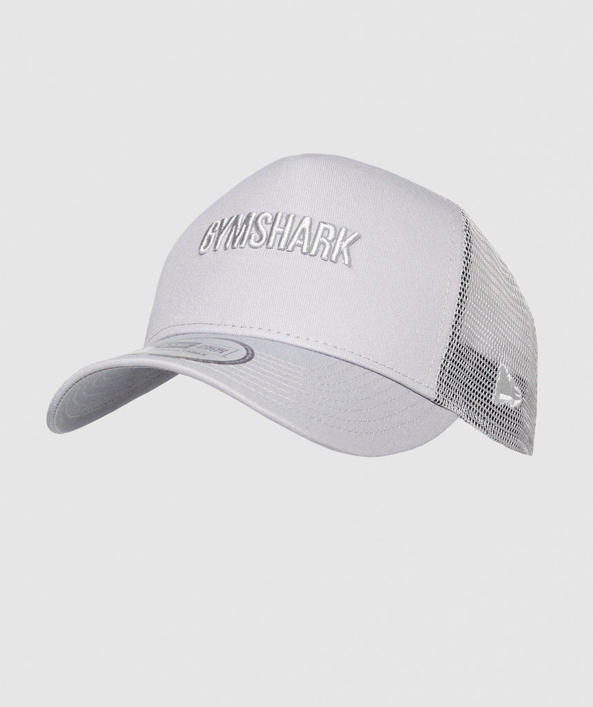 Gymshark New Era GS Trucker - Grey 1